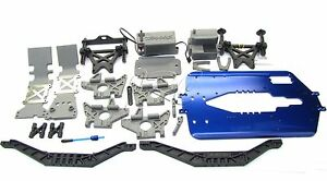 T-Maxx 3.3 CHASSIS 5122X 5197R (length upgrade, bulkhead Towers, 49077-3 Traxxas