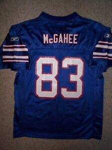 *IRREGULAR* Buffalo Bills WILLIS McGAHEE nfl Jersey Youth Kids Boys (L-LG-LARGE)
