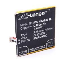 Batterie 2100mAh Li-Po pour HTC One A9 LTE, 35H00252-00M, B2PQ9100