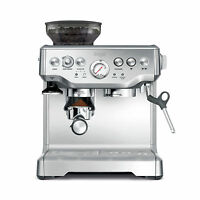 Breville BES870XL Barista Stainless Steel Espresso Coffee Machine with Grinder