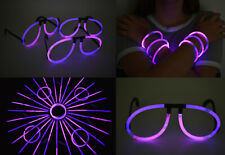 DirectGlow 50ct Pink Purple Glow Stick Glasses Bracelets Party Supply Favors