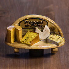 Resin Fridge Magnet: France. The Best Cheeses of France (Premium Quality)
