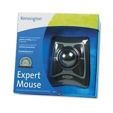 Kensington 64325 Trackball Expert Mouse, ScrollRing, Black/Silver