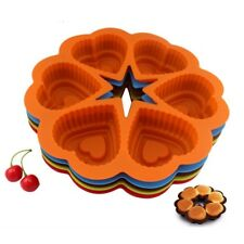 Backm Herz Silikon Muffinm Muffin Cupcake Kuchen Backen Kuchenm  PAL