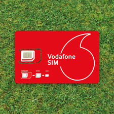 Vodafone SIM card 60GB 4G Data, 3000 mins and Unlimited texts - Free Post Signed