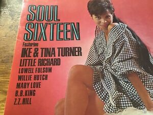 Soul Sixteen - Various Artists - Stateside Records UK 1966 Ike & Tina Turner etc