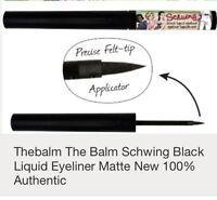 The Balm Schwing Black Liquid Eyeliner Matte. Buy 5 Get One Free. 100%authentic
