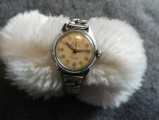 Vintage Kent Incabloc 17 Jewels Wind Up Ladies Water Protected Watch