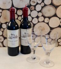 Full size red wine bottle candle great for a romantic dinner table.