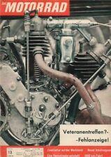 M6113 + TORNAX-JAP + AMAL-Rennvergaser + Das MOTORRAD Nr. 13 vom 24.6.1961