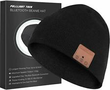 Upgraded Bluetooth Beanie Hat Headphones Wireless Headset Music Speaker Hat NEW
