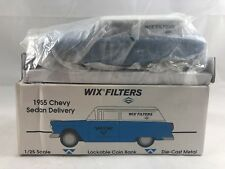 Liberty Classics WIX FILTERS 1955 Chevy Sedan Delivery Car Bank Die Cast 1:25