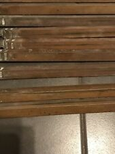 Antique Solid Brass Stair Rods X26