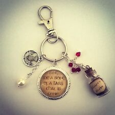 Outlander Keyring-Jewellery-Sassenach-Bag Charm-Christmas Stocking Filler
