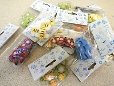127 Wooden Animal embellishments, ideal for cardmaking, Childrens crafts BULK