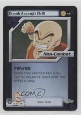 2001 Dragonball Z TCG - Trunks Saga #42 Breakthrough Drill Gaming Card 1i3