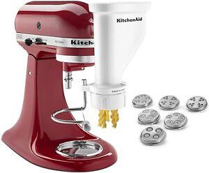 KitchenAid KSMPEXTA Gourmet Pasta Press Attachment with 6 Interchangeable Pasta