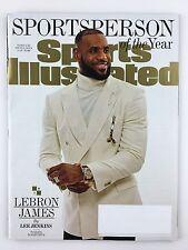 Sports Illustrated Magazine 12/19/2016 LeBron James Sportsperson of the Year