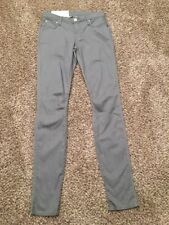 NWT Helmut Lang New York Womens Jeggings Skinny Jeans Gray Size 26