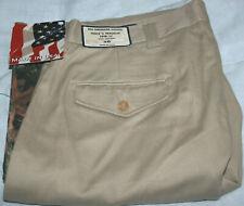 All-American Khakis, Brush/Field pants, 100% cotton,USA made, 38, NWT