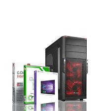 GAMER PC INTEL Core I5 8GB DDR4 120GB SSD + 2TB GTX 1050 TI GDDR5 Windows 10 Pro