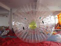 Zorb Ball Zorbing Human Hamster Ball Inflatable PVC1.0 MM  Blowers X1 3.0*2.2M