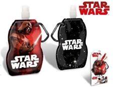 Disney STAR WARS Kinder Faltbare Trinkflasche, 400ml Originale Lizenz Ware