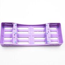 Dental Plastic Sterilization Rack Box Cassette Holder Autoclavable 5 Instruments
