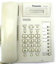 Panasonic KX-T7565 Phone White KX-T7565AL w/ 1 Lines Corded Phone Handset