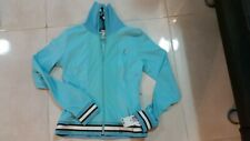 NEW WITH TAG  BABY PHAT MADE IN USA  WOMENS ATHLETIC JACKET  SIZE M  COLOR  BLUE
