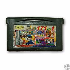 【171 in 1】Nintendo Game Boy Advance SP Handheld System Cartridges