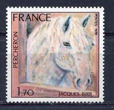 s11356) FRANCE MNH** 1978, Painting Percheron Horse 1v.