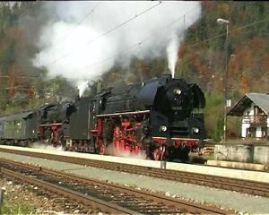 """Best.Nr.46_DVD """"Salzkammergut Dampfexpress"""", Dampfzug mit BR 03., 01. und 86."""