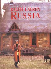 1993 Ralph Lauren Kim Nye Russia gathering wood MAGAZINE AD