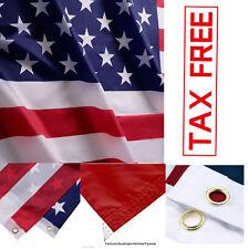 3x5 ft US American Flag Heavy Duty Printed Stars Sewn Stripes Grommets Nylon