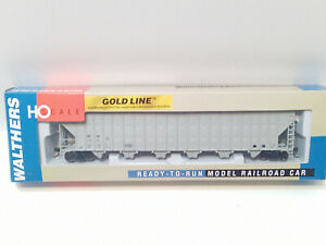 Walthers Gold line GreenVille 7,000 Wood chip Hopper HO Freight Car 9325698