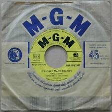 "7"" Conway Twitty - It's Only Make Believe - Italien 1958 - VG+(+) to VG++"