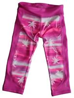 Gymboree Gymgo Active Wear Pink Palm Tree Pants Capris NEW Tags Size S 5-6 $30