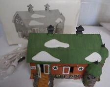 1993 Pennsylvannia Dutch Barn New England Village Series Depart 56 Good Shape