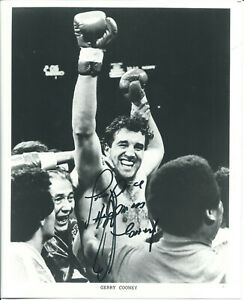 GERRY COONEY, IRISH MICKY WARD & EMILE GRIFFITH LOT OF 3 SIGNED PHOTOS