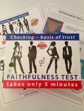 The CheckMate 5 Minute Infidelity Test Kit 1 BOX can test 20  times!
