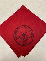 1953 Minnesota State Fair Explorer Service Camp Neckerchief