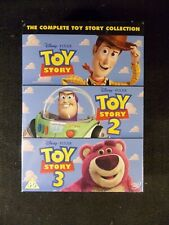 Toy Story/Toy Story 2/Toy Story 3 (3 DVD's, 2014) REGION 2 NEW!
