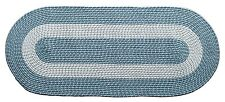 """Home Accent Transitional Braided Oval Rugs 24""""LX60""""W Large Long New"""