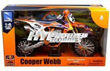 NEWRAY 1:6 KTM 450 SX-F RED BULL RACING #2 COOPER WEBB DIE-CAST ORANGE 49683