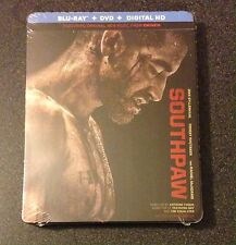 SOUTHPAW Blu-Ray SteelBook DVD, Digital Copy Jake Gyllenhaal, Rachel McAdams New