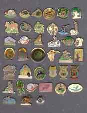 lot de 39 pin's chasse ACCA ball trap cerf sanglier chevreuil lièvre bécasse