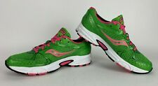 Saucony Cohesion 6 Women's Pink and Green Running/Walking Shoes Size 8.5M