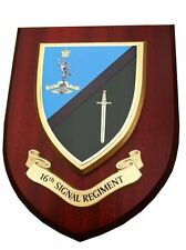 16th Signal Wall Plaque UK Hand Made for MOD Regimental Military