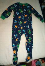Carters Fleece 2t One Piece Footie Pajamas